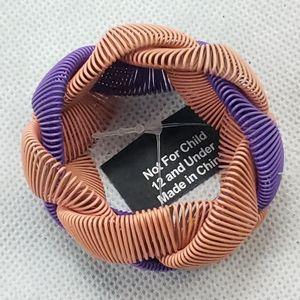 NWT Twist Braided stretch Wired Bracelet